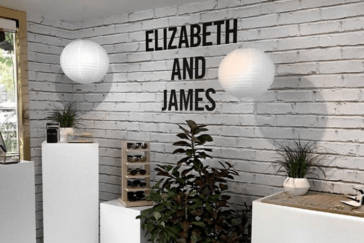 A Taste of What's New: Elizabeth and James