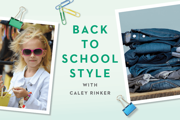 Back-to-School Style with Caley Rinker