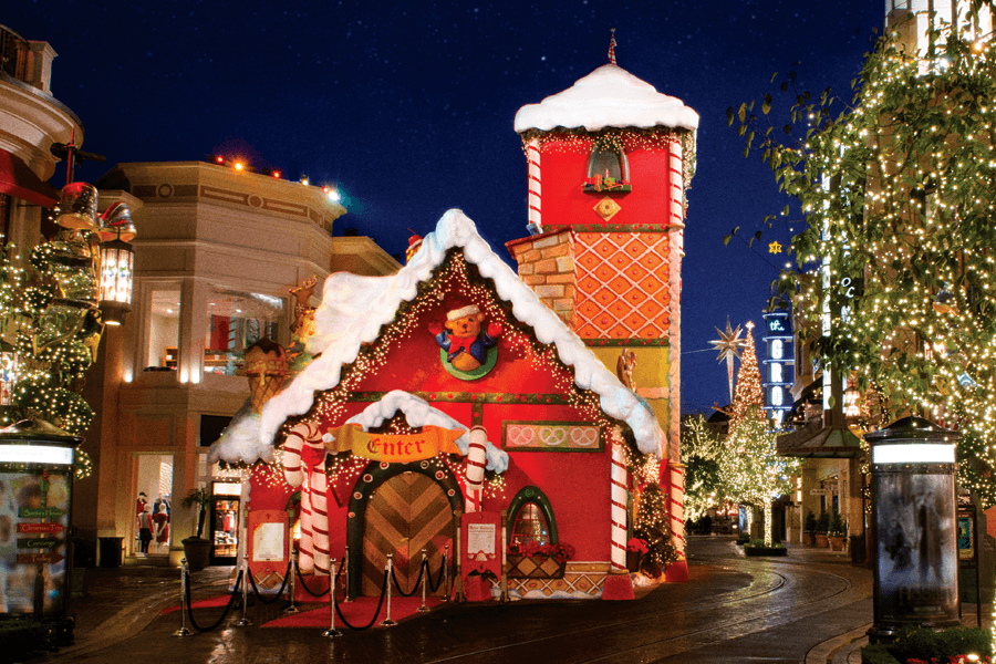 Visit Santa at The Grove