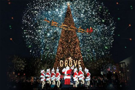 Christmas In Los Angeles.7 Things To Do This Christmas In Los Angeles The Grove La