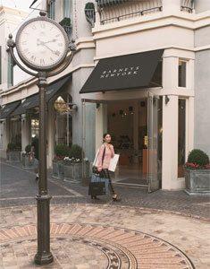 Stephanie Liu near Barneys new York