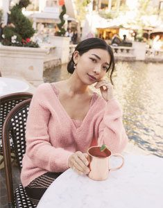 Stephanie Liu at The Grove