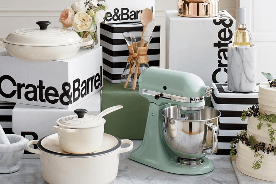 Crate Barrel Wedding Registry.Crate And Barrel Couples Registry At The Grove The Grove La