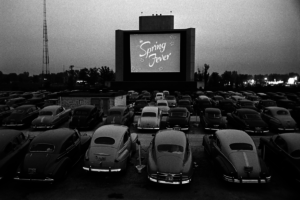 Suzanne French Movie night at The Grove
