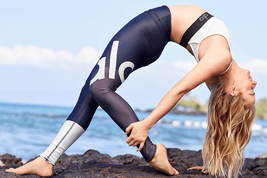 Gigi C Bikinis x Alo Yoga Sunset Yoga Class