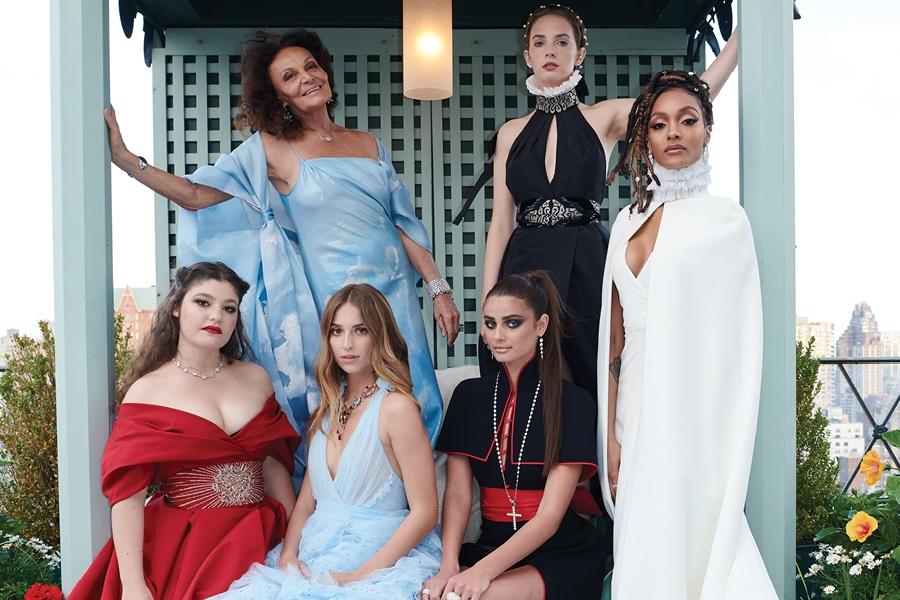 DVF 2018 Met Gala Gowns Exhibit