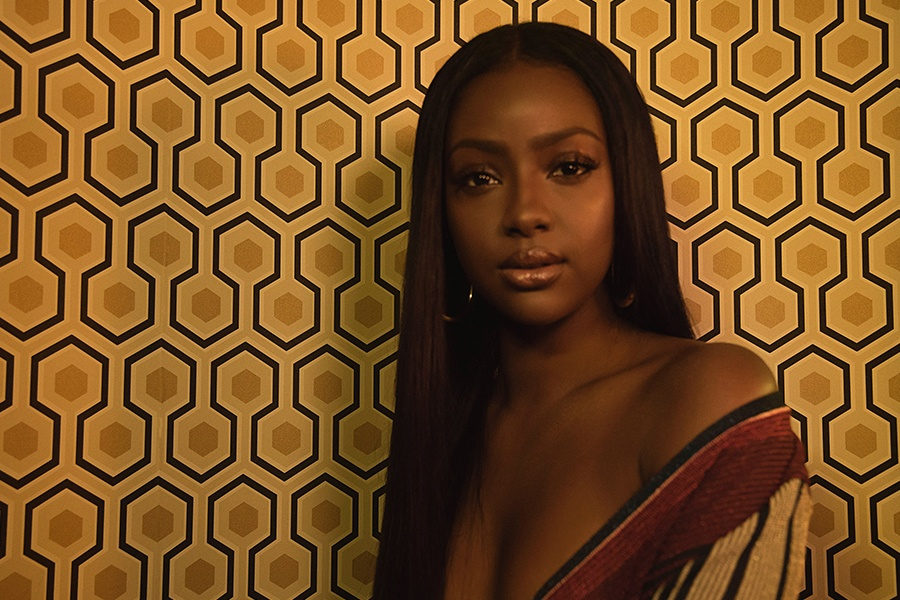 Ray-Ban x Justine Skye in The Park