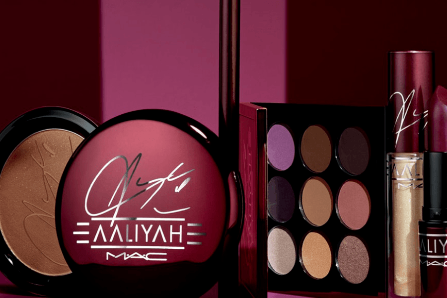 M•A•C Cosmetics' Aaliyah Tribute Collection