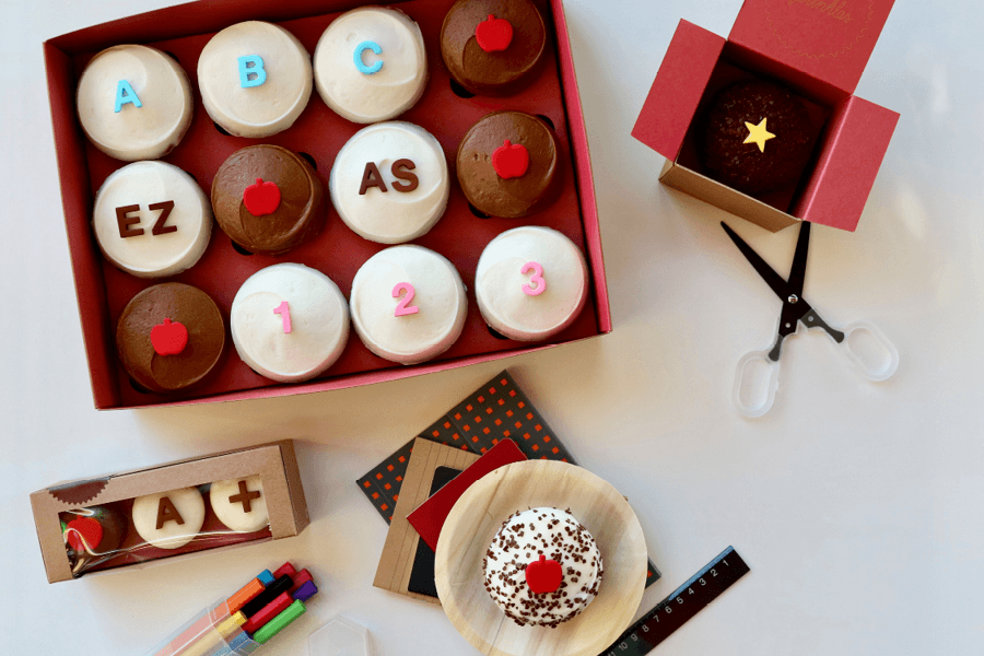 Back-to-School Mini Sampler at Sprinkles Cupcakes