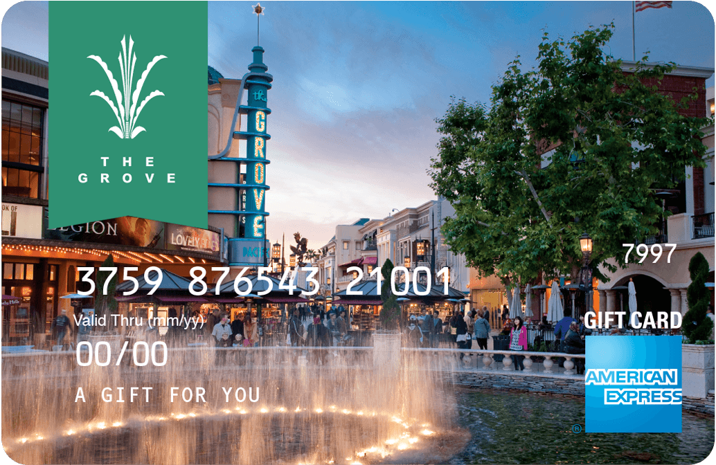 The Grove AMEX Gift Card
