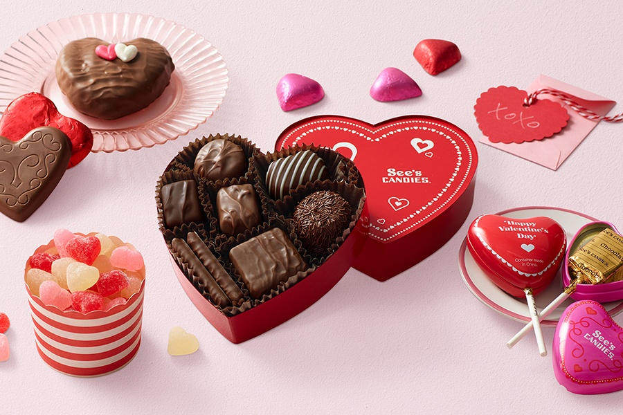 Valentine's Day at <br>See's Candies