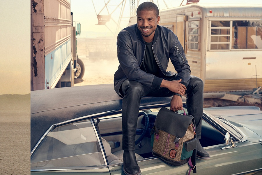 Michael B. Jordan for Spring 2019 Collection at Coach