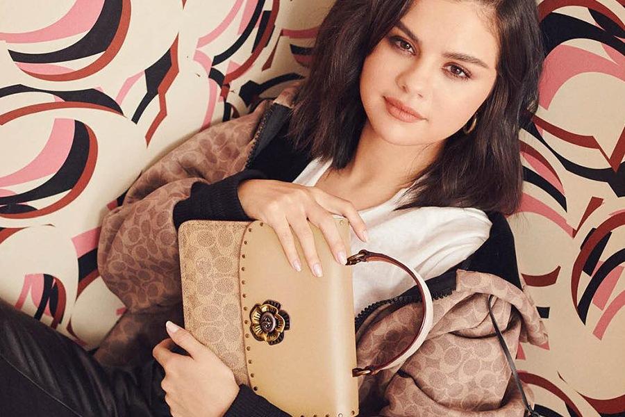 Selena Gomez in Coach