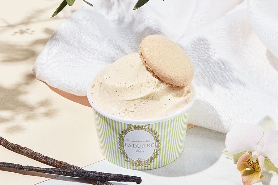 Parisian Ice Cream Treats at Ladurée