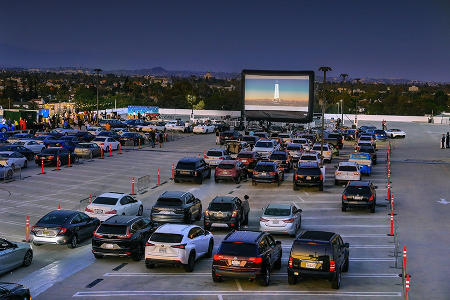 Level 8 Drive-In: Summer Movie Series at The Grove