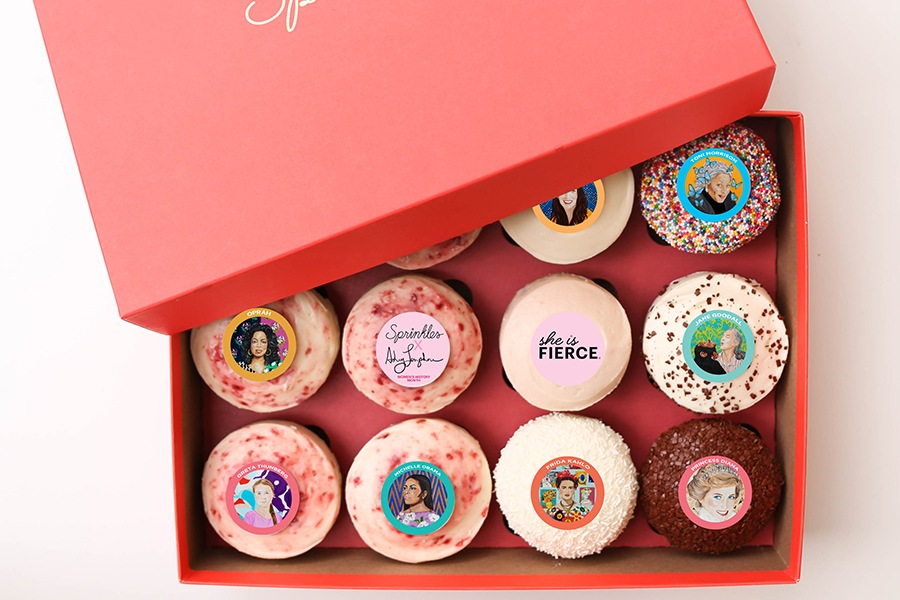 Women's History Month at Sprinkles Cupcakes