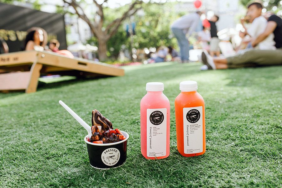 Delivery & Carry-Out at Pressed Juicery