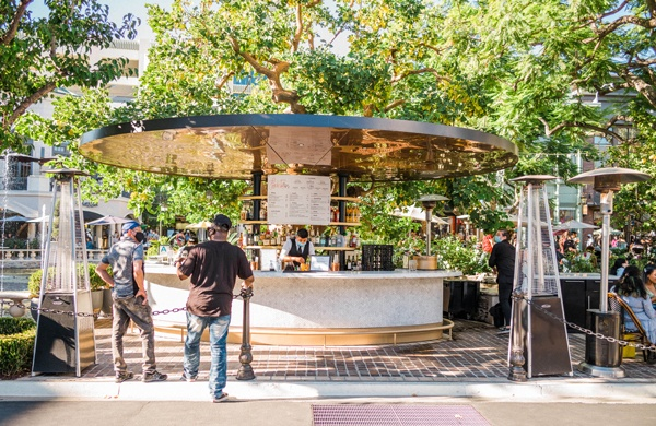 Beat the Heat this Labor Day at The Fountain Bar at The Grove