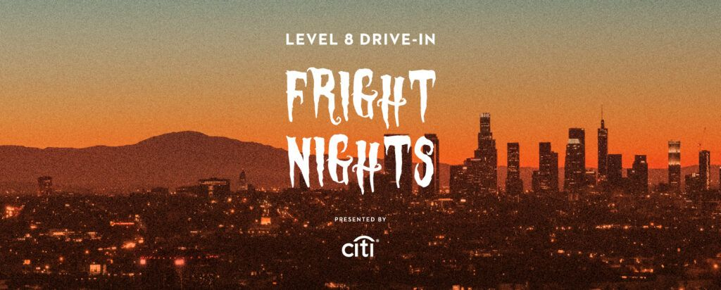 Drive-in Movie at the Grove! From Freddy Kreuger to the Marshmallow Man, the throwback style the LA drive-in experience is teaming up with our favorite Halloween classics, and there are lots options for kids and teens!! Here's the mega list of Halloween themed drive-in movies in Los Angeles this year for Halloween 2020
