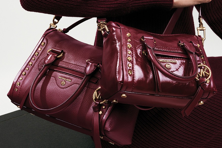 New Carine Handbag Color at Michael Kors