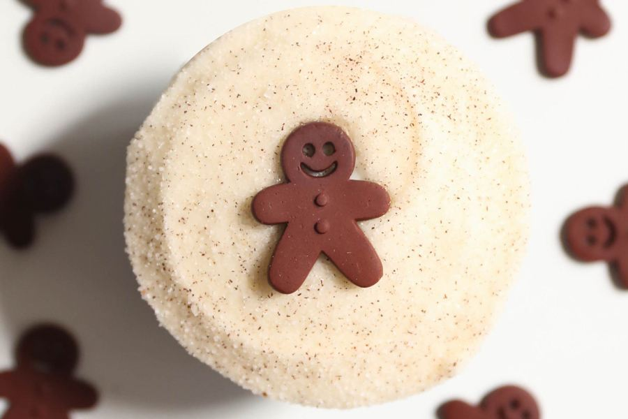 Gingerbread for the Holiday at Sprinkles Cupcakes