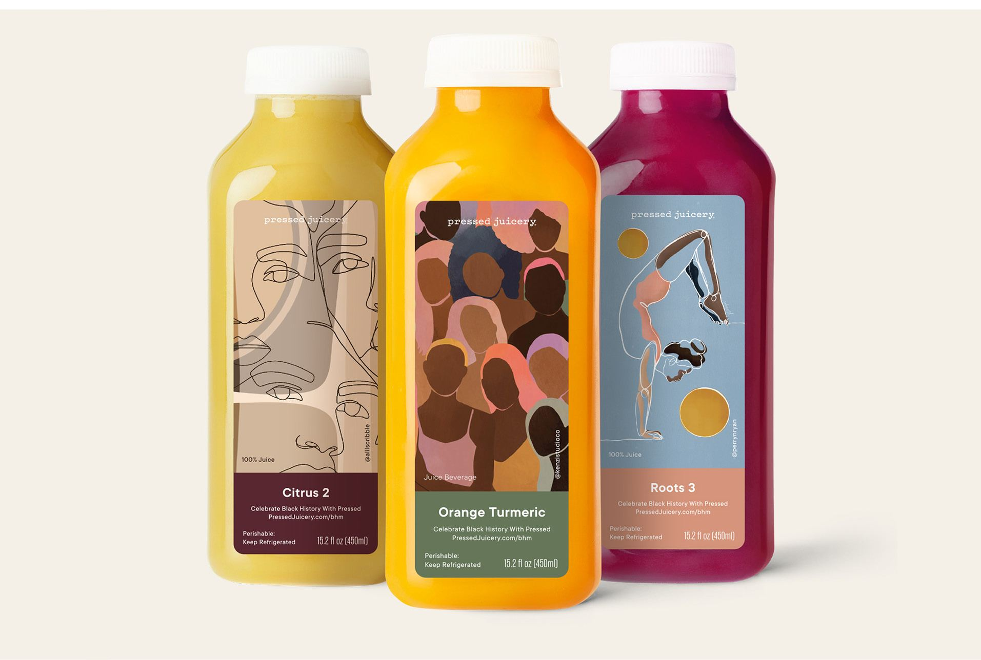 Black History Month Exclusives at Pressed Juicery