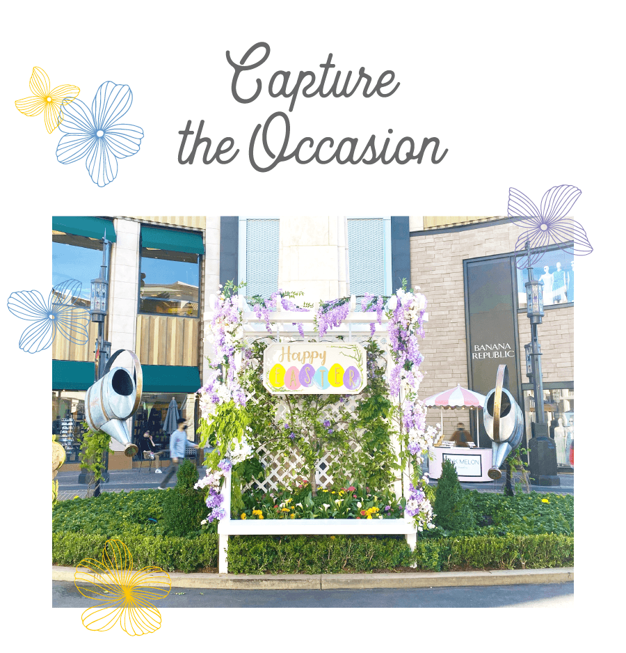 EASTER & SPRING 2021 Photo Op at The Grove LA