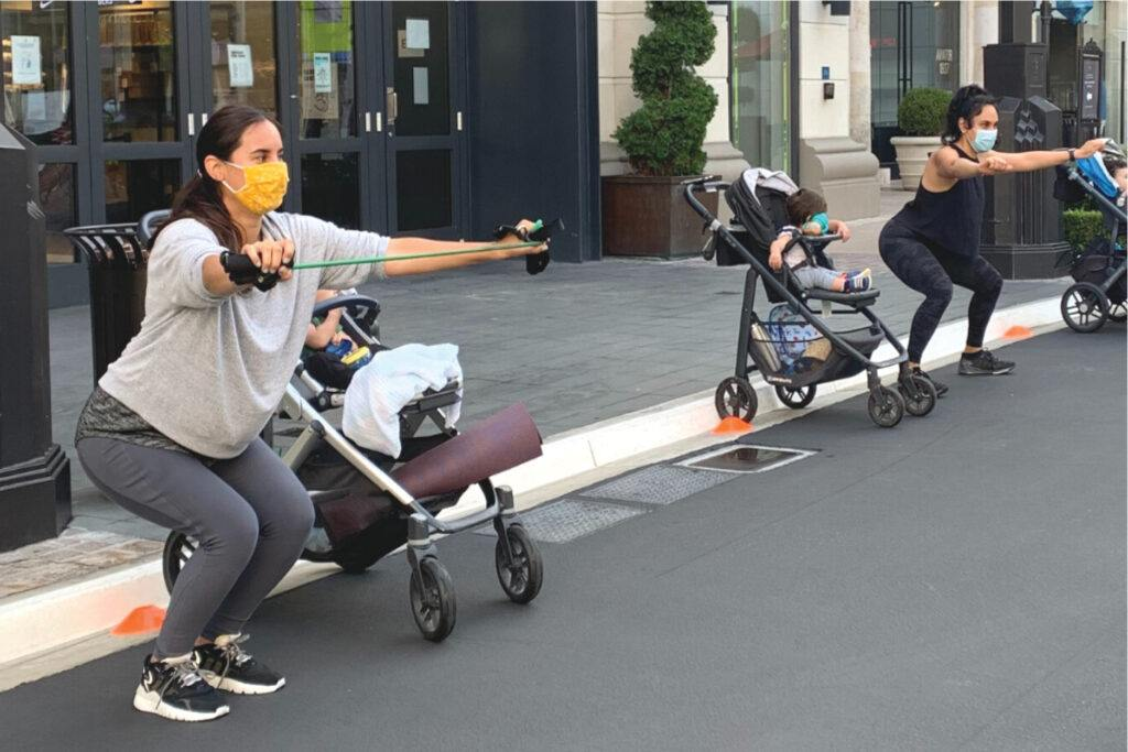 Stroller Strides with FIT4MOM
