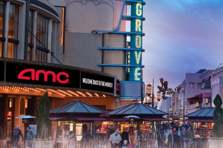 AMC Theatres – Now Open
