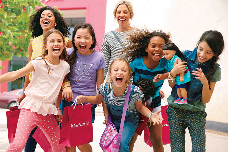 Girl of the Year™ Paint & Lunch at American Girl Place